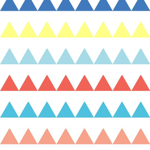 Triangles in a Row - Color