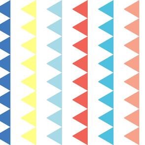 Triangles in a Column - Color