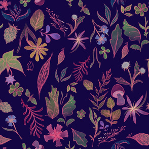 Midnight Flora