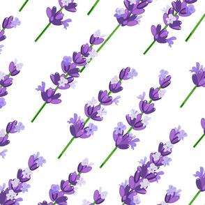 lavender pattern diagonal 2