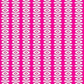 F-Peppermint Pink Stripe