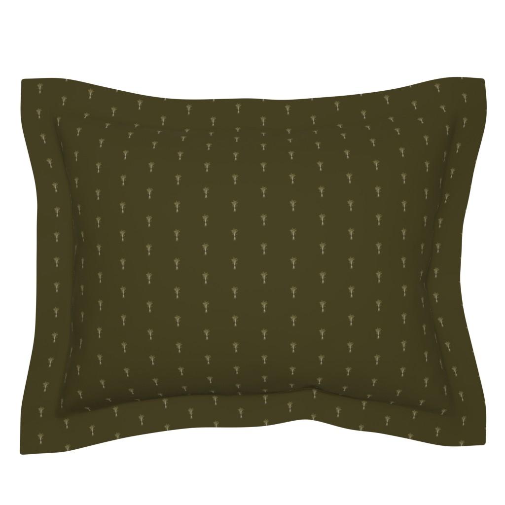 Sebright Pillow Sham featuring Classic Herb Bundle | Camelot by lochnestfarm