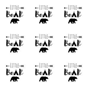 "Little Bear 6"" square"