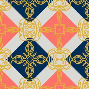 Southwest Tile 60s Mod Style