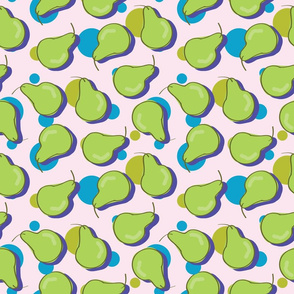 Pears with Polka Dots