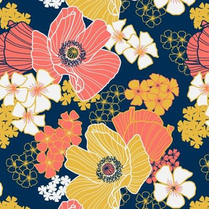 Wild Poppies limited palette