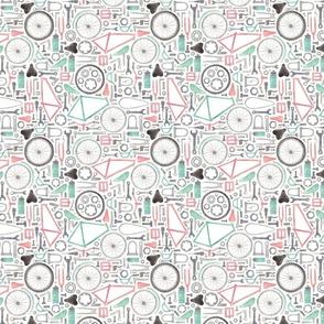 Bike Parts, Cycling Pattern! (extra small)