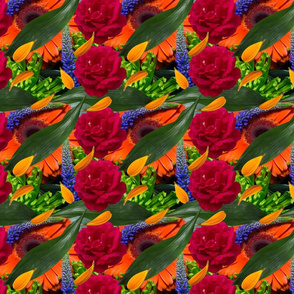 Bold and bright Floral Pattern