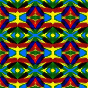 Retro Bright 1980s Style Bold Pattern