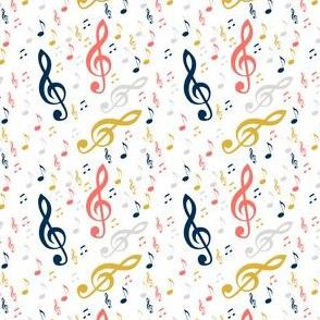 colour of music - gold blue orange grey
