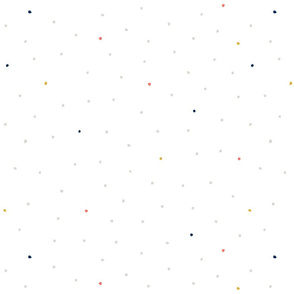Tiny Dots Alliums Happy Coral by Friztin
