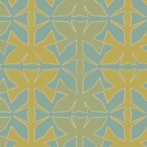 lotus-tessellate_mustard_aqua