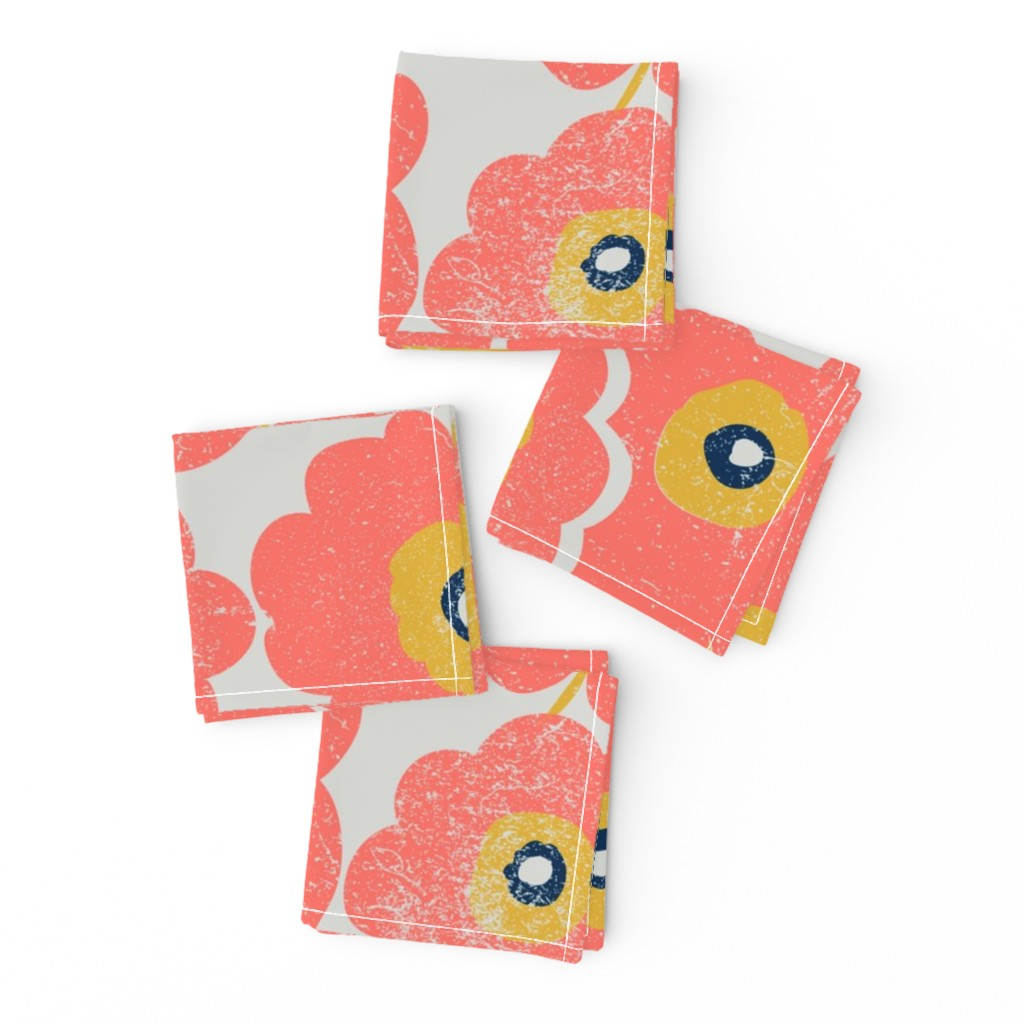 Frizzle Cocktail Napkins featuring Coral Creations by orangefancy