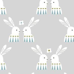 Arctic hare grey
