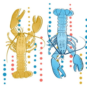 lobster tea towel or placemats