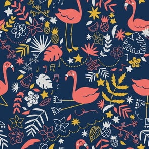 Let's  flamingo to the 80's