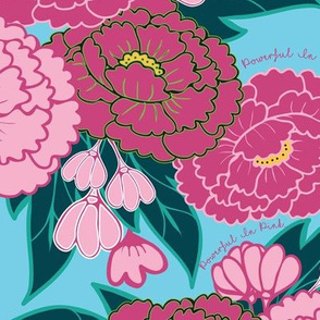 Peony Garden - Powerful in Pink