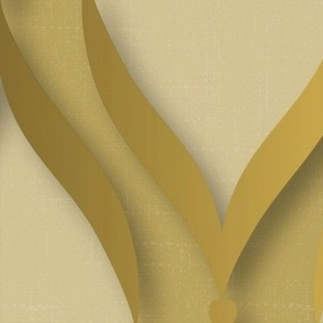 Peony Garden - Pink and Green Flowers on Blue