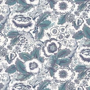 Provence Floral Blue