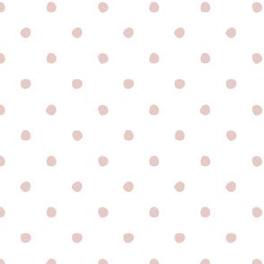 Cute polka dot pink