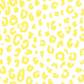 Summer Leopard in soft yellow