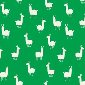 Llamas small green
