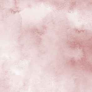 Watercolor Abstract Dusty Pink