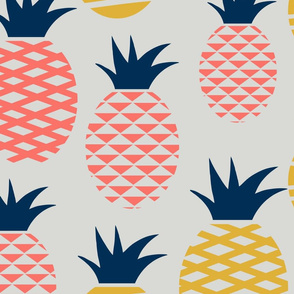 coral limited pineapples - 4 colors