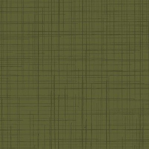 19-02X Olive Military Green  Linen Texture Solid Blender _  Miss Chiff Designs