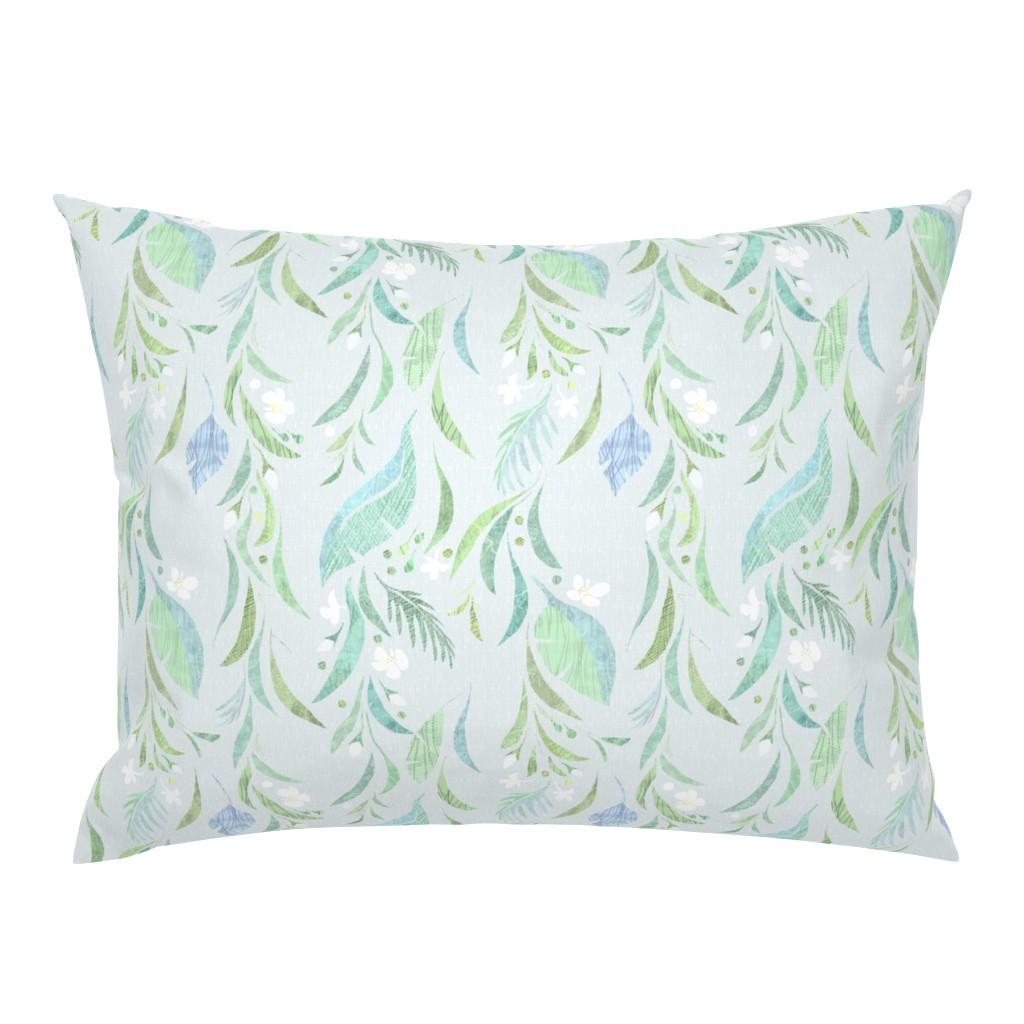 Campine Pillow Sham featuring bohemian_tropics by wren_leyland