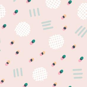 Waffle Confetti - cream