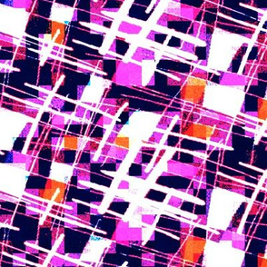Abstract textures - black and pink