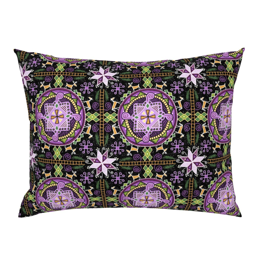 Campine Pillow Sham featuring Pysanky For Days! ©Julee Wood by jewelraider