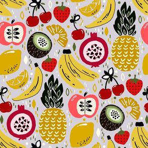 Tropical Fresh Funky Fruit (Large version)