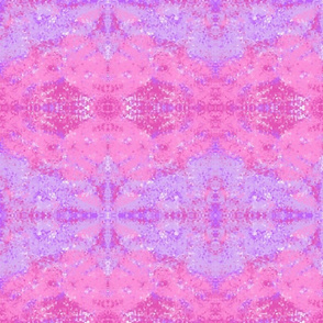 pink and purple crystal