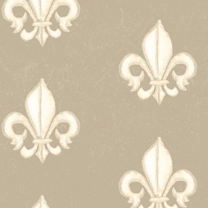 19-02B Taupe Cream France Home Decor