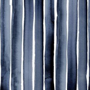 watercolor stripe-blues-rotate