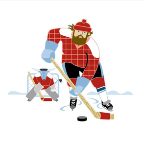 Bunyan Hockey team panel