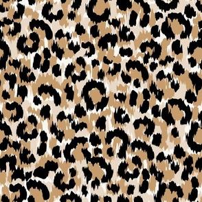 Faux Leopard Skin