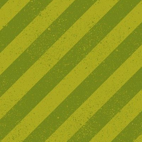 Diagonal Spatter Stripe Lime