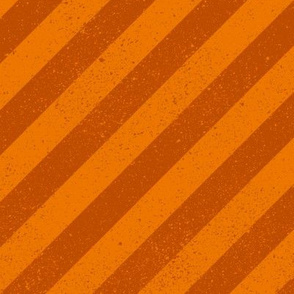 Diagonal Spatter Stripe Orange