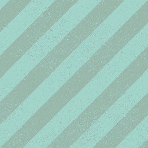 Diagonal Spatter Stripe Sage
