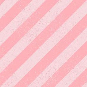 DiagonalSpatterStripeBubblegum