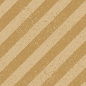 Diagonal Spatter Stripe Tan