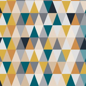 70s Triangles - Large Scale