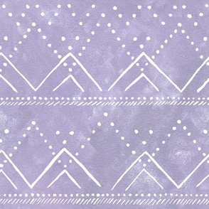 Celestial Geometric Mountain Lilac
