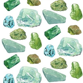 Green minerals (large)