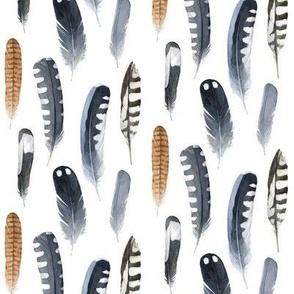 minimal feathers