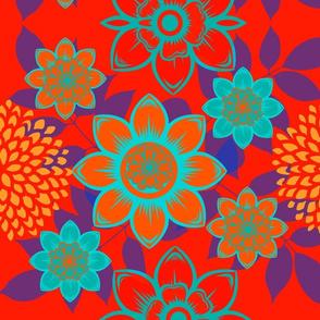 Desert Bold Floral