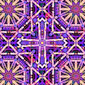 Purple's Party: Diamond Squares
